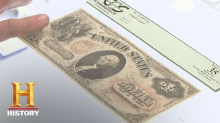 Pawn Stars: 1875 $1 and 1883 $5 Bills (Season 6) | History