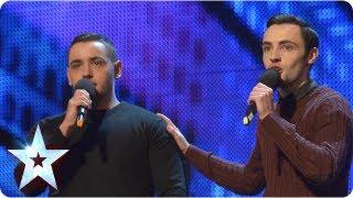 Richard and Adam singing