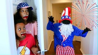 4TH OF JULY MAN vs Shiloh and Shasha!  - Onyx Kids
