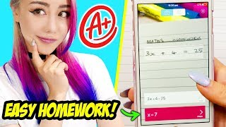 21 Study Hacks For School You Should Know! *IMPROVE YOUR GRADES EASILY*