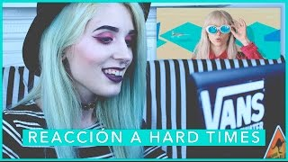 Reacción a Paramore: Hard Times [OFFICIAL VIDEO]