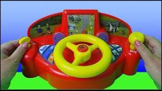 Fireman Sam Jupiter Fire Engine Driving Game Toy