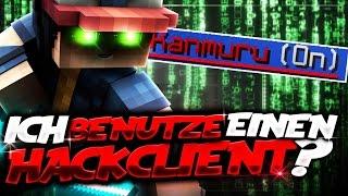 ICH BENUTZE EINEN HACK CLIENT?! (Minecraft UHC Run)