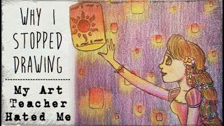 My Art Teacher Hated Me (Why I stopped drawing) // Story Time