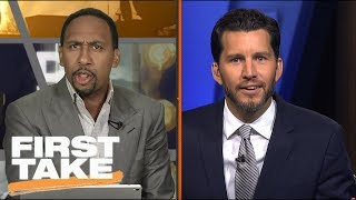 Stephen A. Goes Off On Will Cain Over Jay Cutler   First Take   ESPN