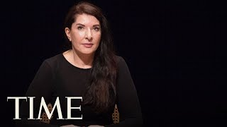 Performance Artist Marina Abramović Was Attacked With Portrait Of Herself At A Retrospective | TIME