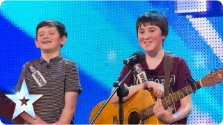 Jack and Cormac sing