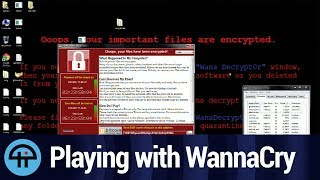 Playing with WannaCry Ransomware