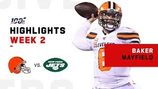 Baker Cooks w/ 325 Passing Yards! | NFL 2019 Highlights