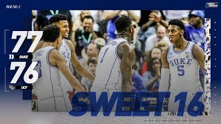Instant classic: Duke survives UCF