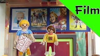 """Playmobil Film deutsch """"Oh nein, wer ist da noch im Kino?"""" Familie Jansen  im Kino"""