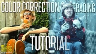 Color Correction/Grading Tutorial