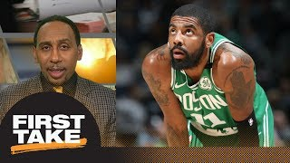 Stephen A. Smith: Kyrie Irving injury threatens Celtics