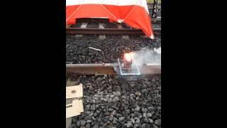 Railroad thermite welding Part 2