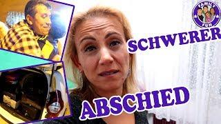 TRÄNEN BEIM ABSCHIED | TRAURIGE TRENNUNG VON DER FAMILIE | Vlog #121 FAMILY FUN
