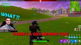 A little kid gave me tips and helped me get a Victory Royale in Fortnite!