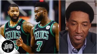 Scottie Pippen is worried about Celtics following in-game argument   The Jump