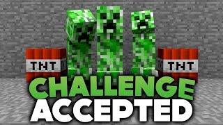 ICH BIN EIN CREEPER! - CHALLENGE ACCEPTED! | DieBuddiesZocken