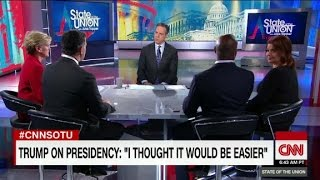 "Trump: thought presidency would be ""easier"""