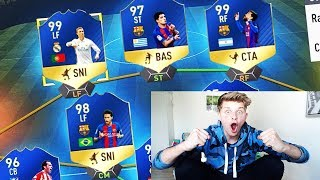 OMG!! 99 TOTS RONALDO & 99 MESSI in 1 FUT DRAFT!! ⚽⛔️😝 - FIFA 17 ULTIMATE TEAM (DEUTSCH)