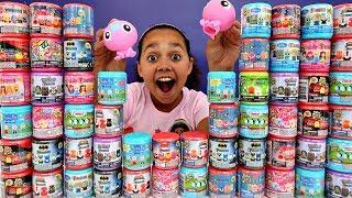 MASHEMS & FASHEMS OPENING! Toys For Kids Peppa Pig,Lightning McQueen,Paw Patrol,Disney Princess