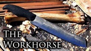 How to Make a Chopping Knife From a 2 Dollar Farrier