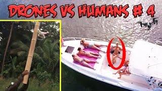 Top 5 Drones vs Humans # 4