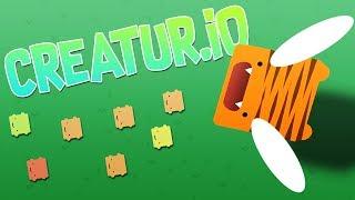 Most OVER POWERED Build EVER?! - Amazing new IO Game - Creatur.io
