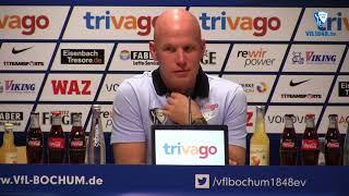Die Pressekonferenz vor der Partie 1. FC Kaiserslautern - VfL Bochum 1848