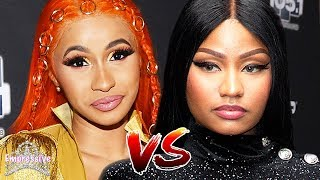 Nicki Minaj and Cardi B get into an UGLY feud on social media! (FULL BREAKDOWN)