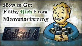 How to Get Rich from Manufacturing 💰 Fallout 4 No Mods Shop Class