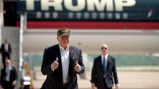 Trump trades private fleet for Air Force One