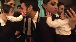 Deepika Padukone And Ranveer Singh Cute Baby Moment