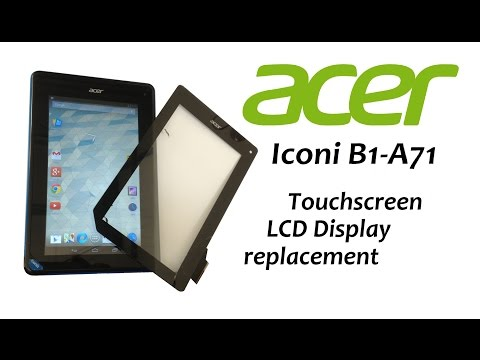 Acer Iconia B1-A71 - Touch Screen Replacement, Glass Digitizer, LCD Display, Battery replacement