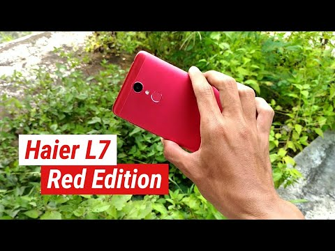 Review Haier L7 - Red Edition #jomblografer