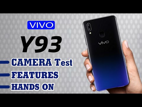 VIVO Y93 Unboxing + Camera Test + Review | ALL STUFF