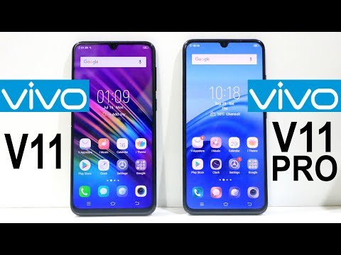 Vivo V11 Vs Vivo V11 Pro Speed Test