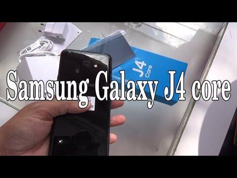 Samsung Galaxy J4 Core Black color
