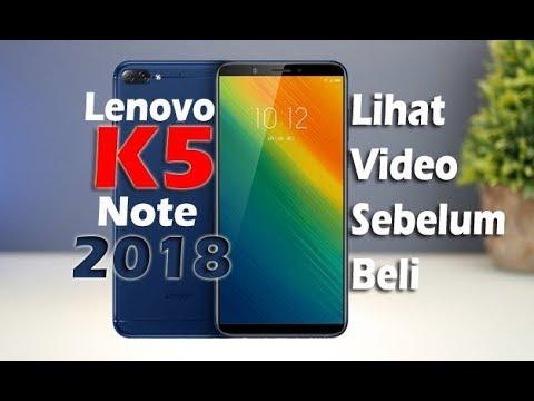 Review Lenovo K5 Note 2018