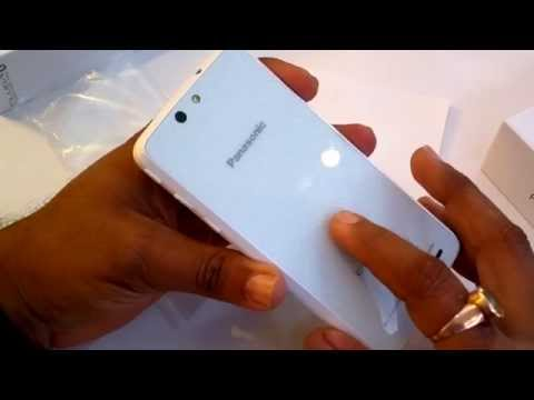 Panasonic Eluga U Unboxing and Hands On