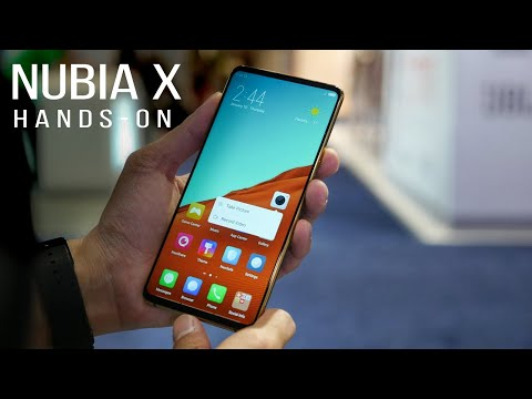 Nubia X hands-on: Two displays, two fingerprint scanners, almost no bezels