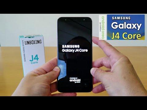 Unboxing (Desempaquetado) SAMSUNG GALAXY J4 CORE ANDROID GO EDITION