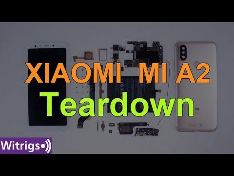 Xiaomi MI A2(MI 6X) Teardown | Disassembly