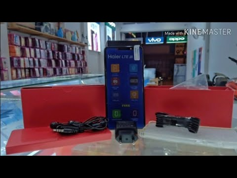 Unboxing HP HAIER i8