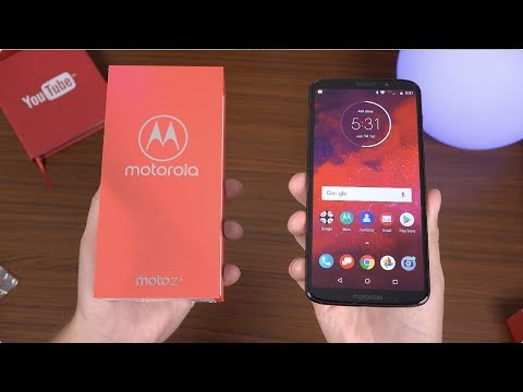 Motorola Moto Z3 Unboxing!