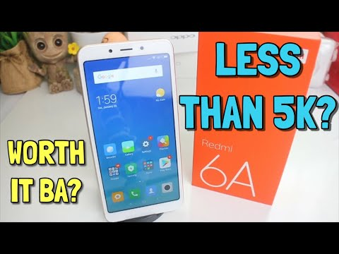 REDMI 6A UNBOXING AND FIRST IMPRESSION | TAGALOG