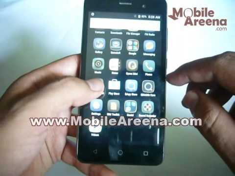 QMobile Noir i6 Metal HD Video Review