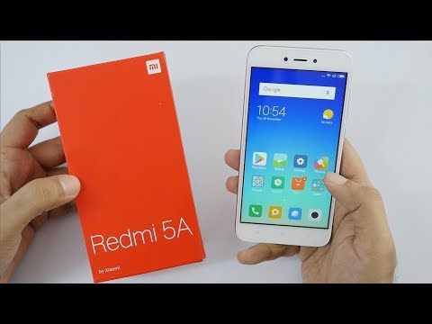 Redmi 5A Budget Android Smartphone Unboxing & Overview