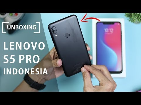 Unboxing Lenovo S5 Pro Indonesia - HP 2 Jutaan dengan RAM 6GB dan Internal 64GB