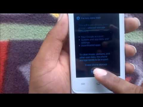How to Hard Reset Haier A6 and Forgot Password Recovery, Factory Reset